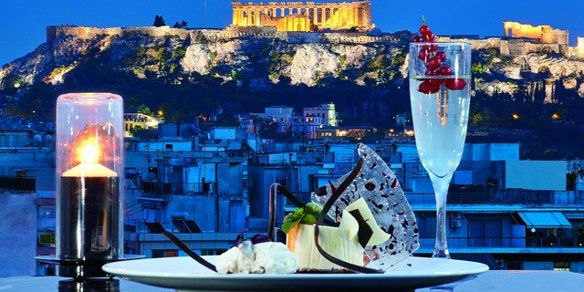 vThe tenth place to visit in 2020 in Athens in Greece