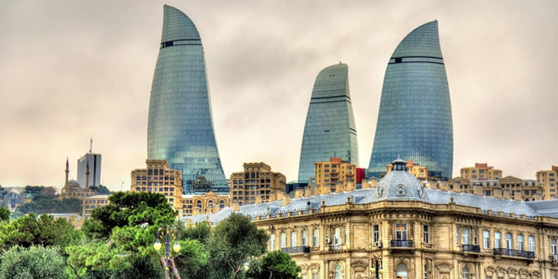 The fifth place to visit in 2020 is Azerbaijan