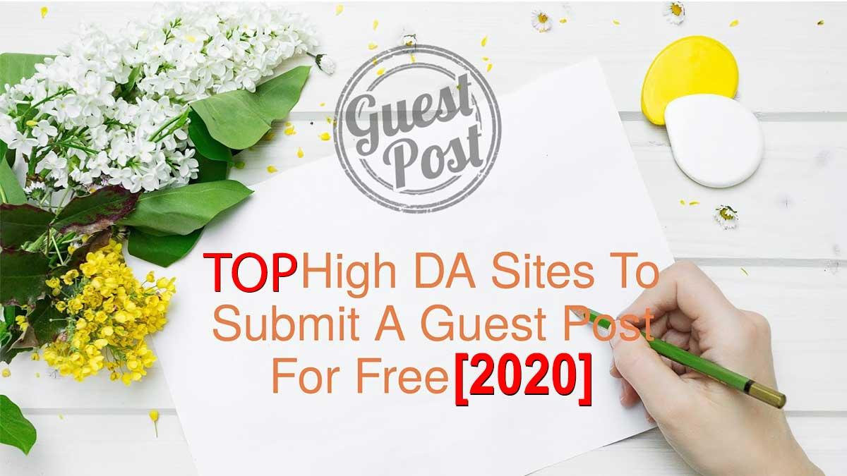 Free Gust Posting sites