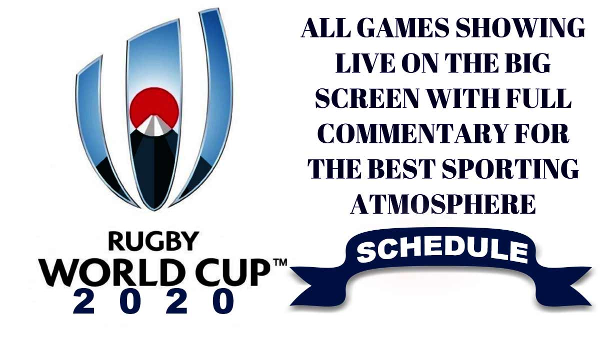 Rugby World Cup Schedules