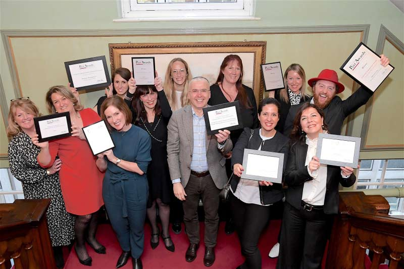 CLC World Charity Holidays celebrate with the other winners of The Peer Awards 2020