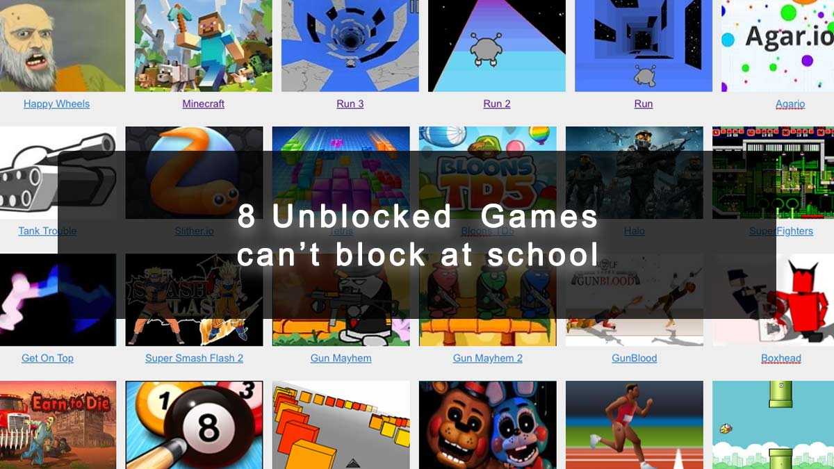 UnBlocked games at school