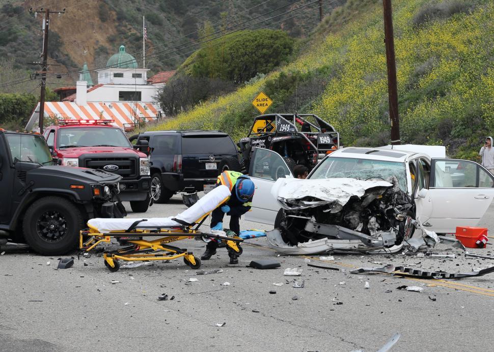 Nikki Catsura car accident photograph